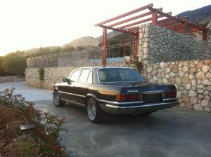 Mercedes Μαύρη 8