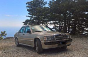 Mercedes Χρυσή 5b