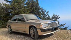 Mercedes Χρυσή 8b
